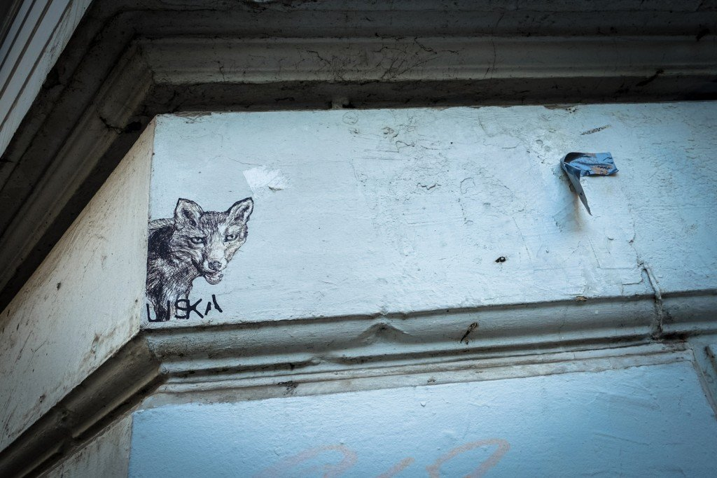 paste up - liska - hamburg, st pauli