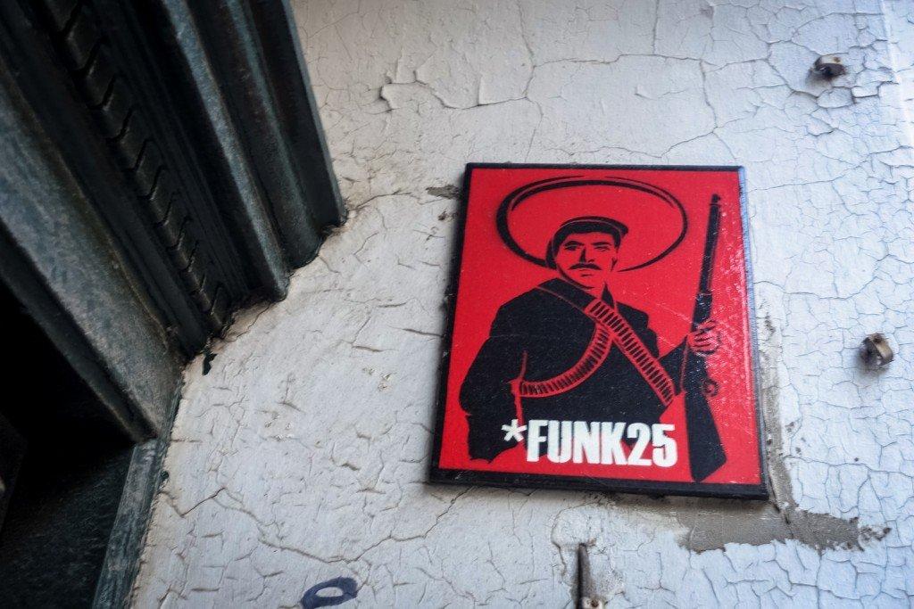 streetart - funk25 - hamburg, st pauli