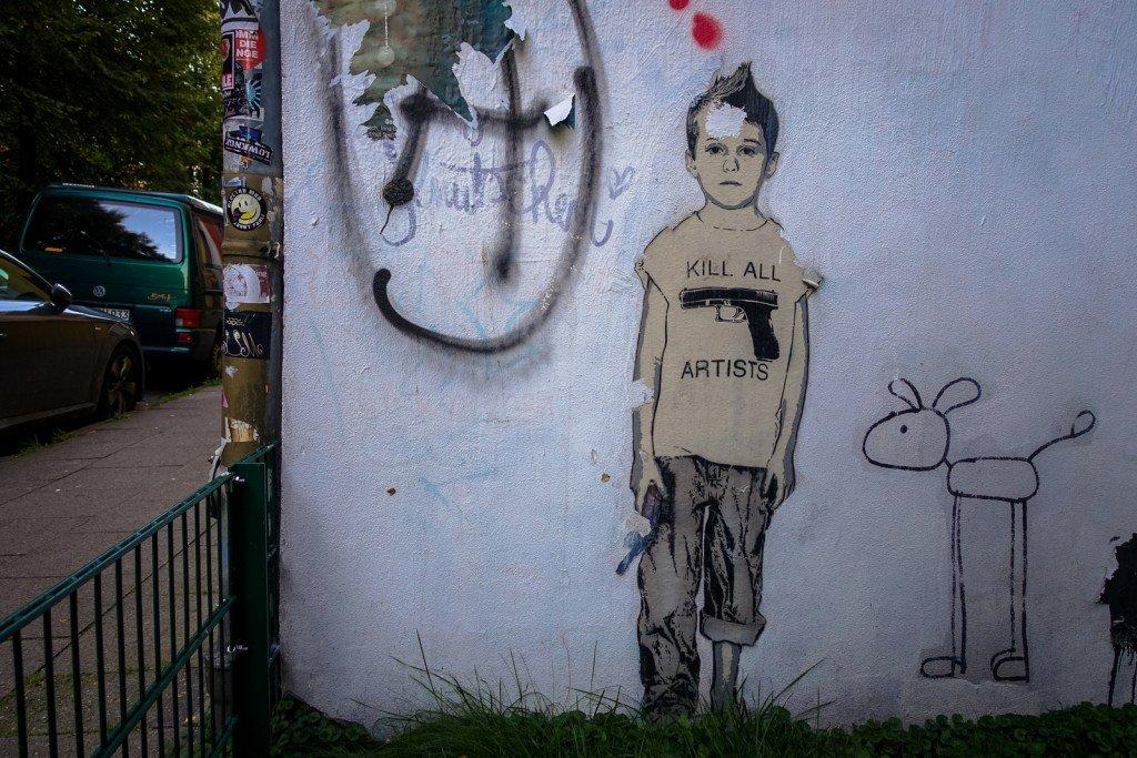 streetart - alias - hamburg, st pauli