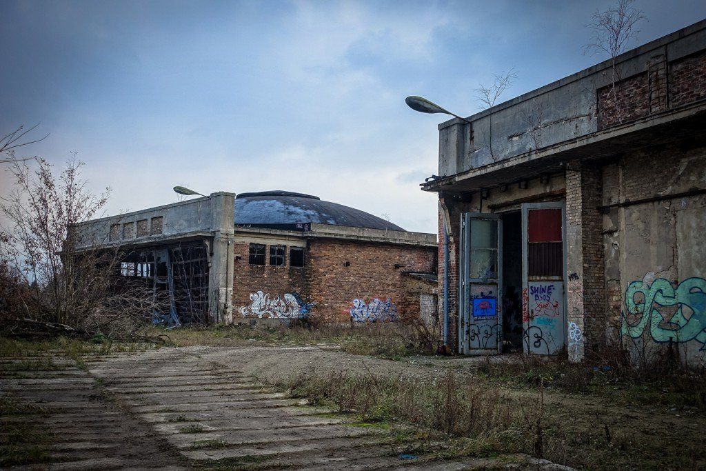urbex - flugzeughallen berlin, karlshorst