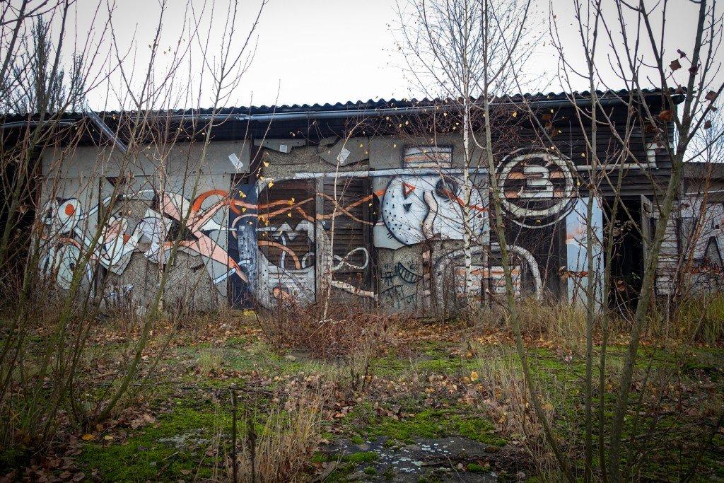 urbex art - flugzeughallen berlin, karlshorst