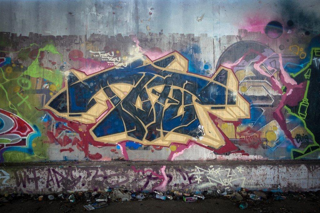 urbex art graffiti - tofu - db gelände - berlin, biesdorf-süd