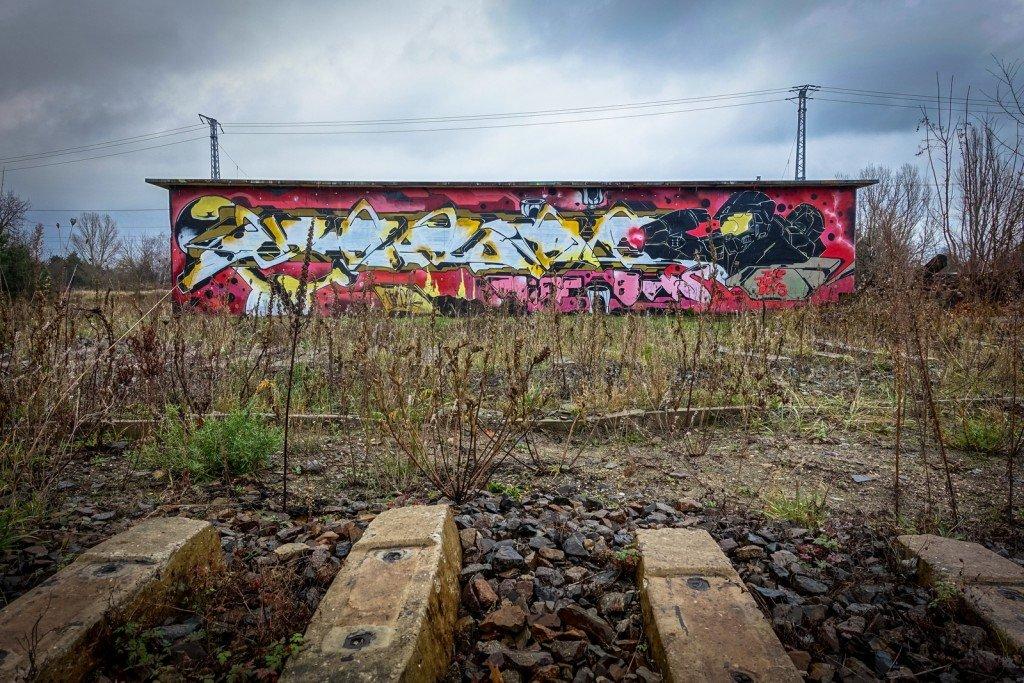 urbex art - db gelände - berlin, biesdorf-süd