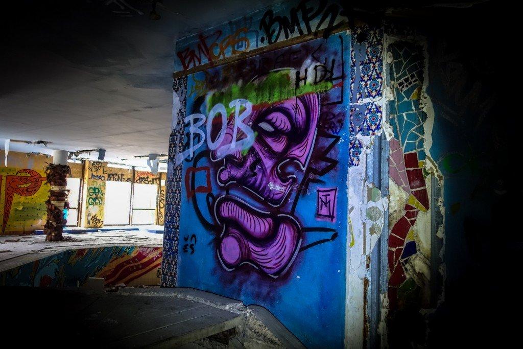 urbex graffiti - tm - erlebnisbad blub - berlin-britz