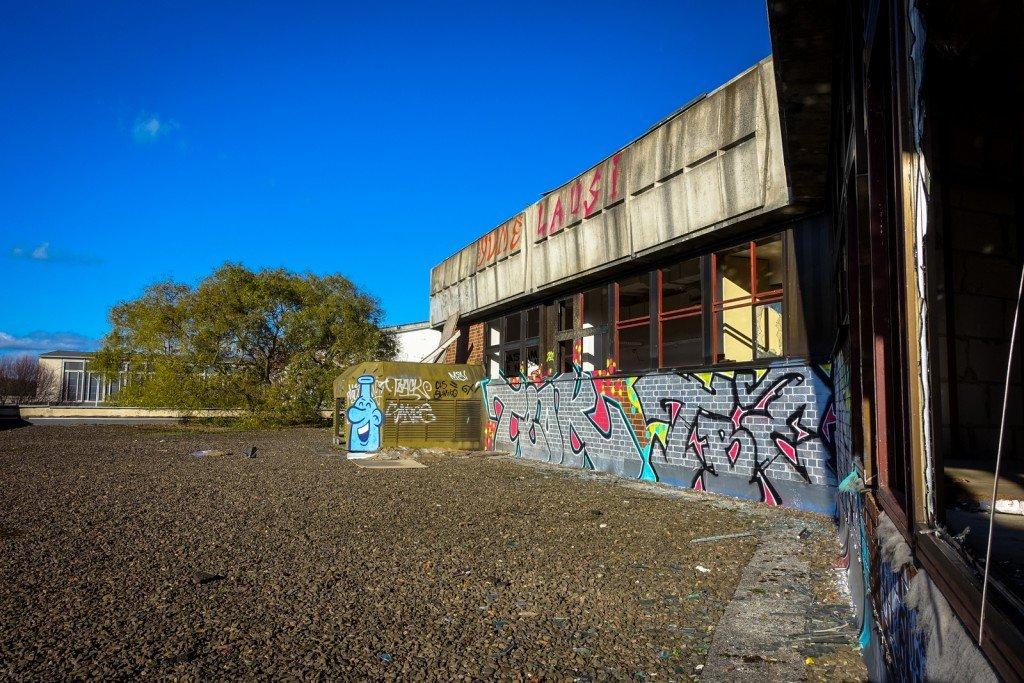 urbex - ehemaliges sporthotel, sportforum, berlin
