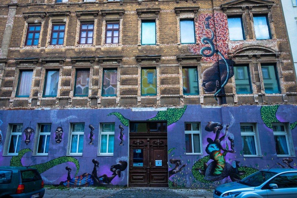 mural - alexandre keto  - freiraumgalerie halle / saale