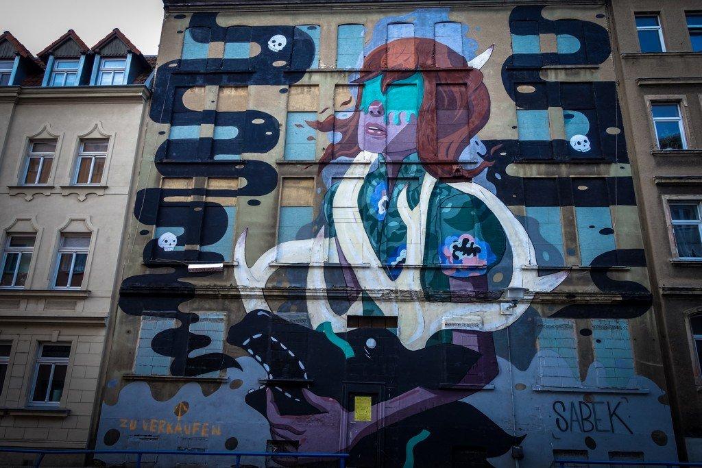 mural - sabek - freiraumgalerie halle / saale