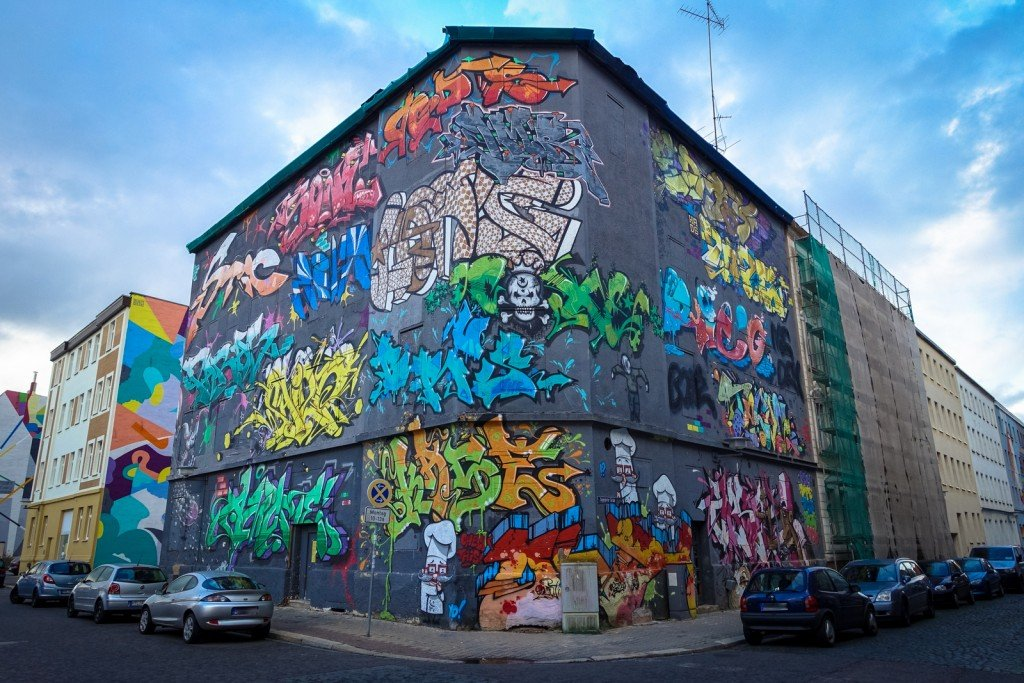 graffiti - graffitiszene (halle) - freiraumgalerie halle / saale