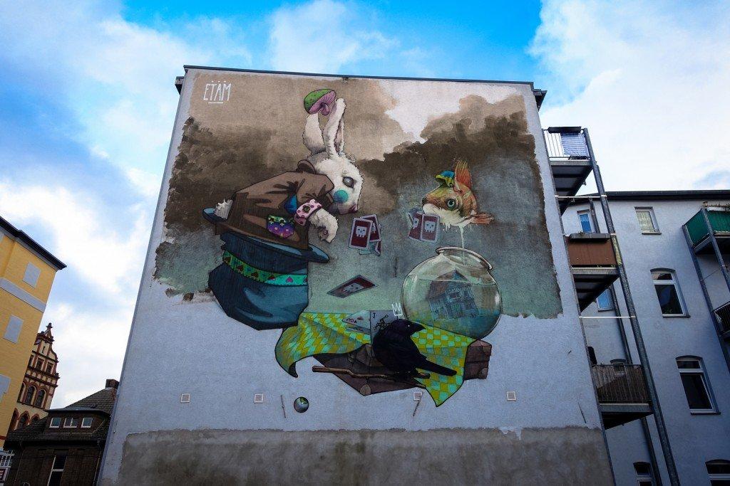 mural - etam cru - freiraumgalerie halle / saale