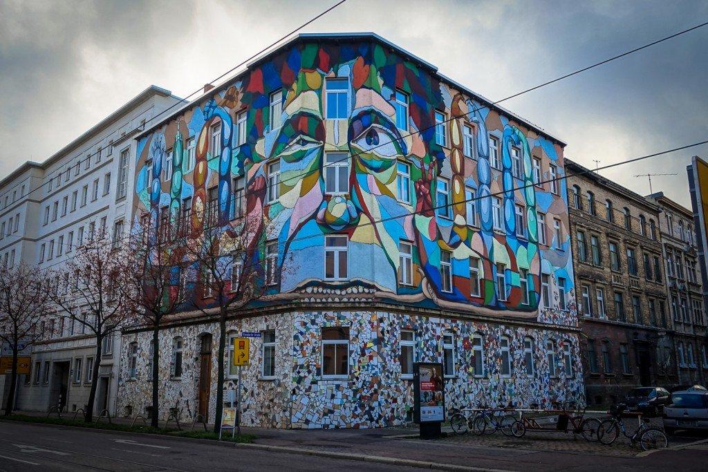 mural - lake - freiraumgalerie halle / saale