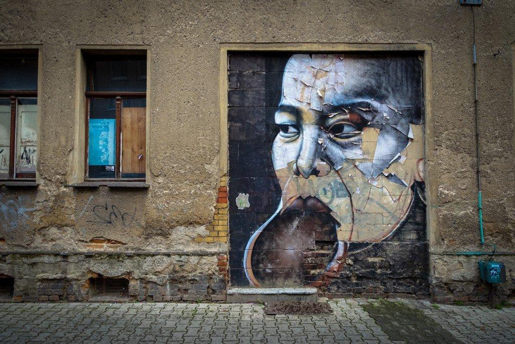 stencil - alexandre keto - freiraumgalerie halle / saale