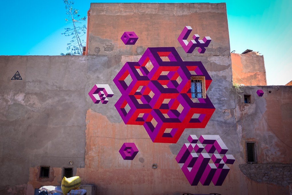 mural - lx.one - marrakech