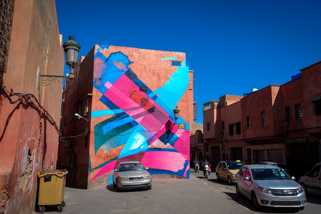 mural - mad c - marrakech