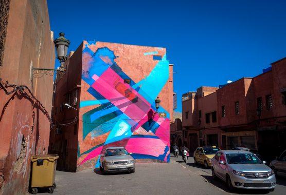 mb6streetart  murals in marrakesch