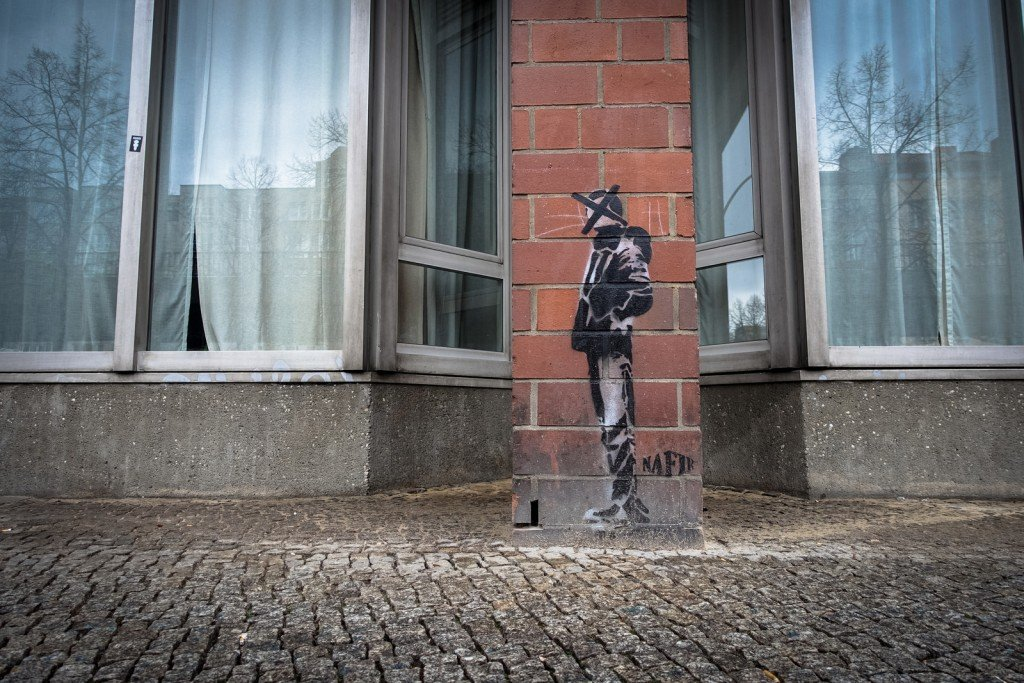 stencil - nafir - berlin, bülowstrasse