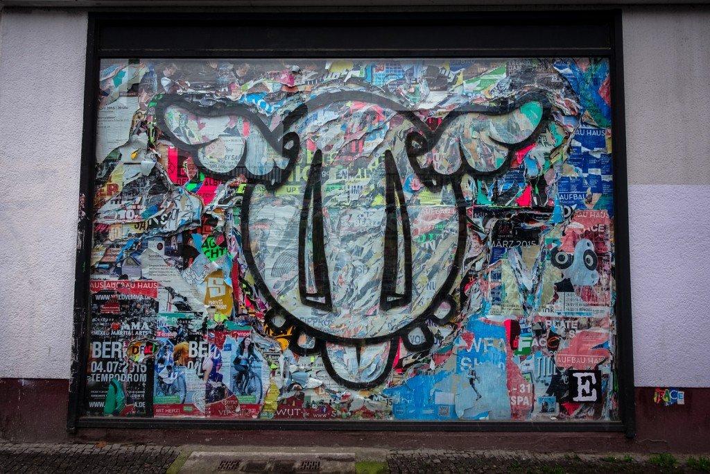 urban art - d*face - berlin, bülowstrasse