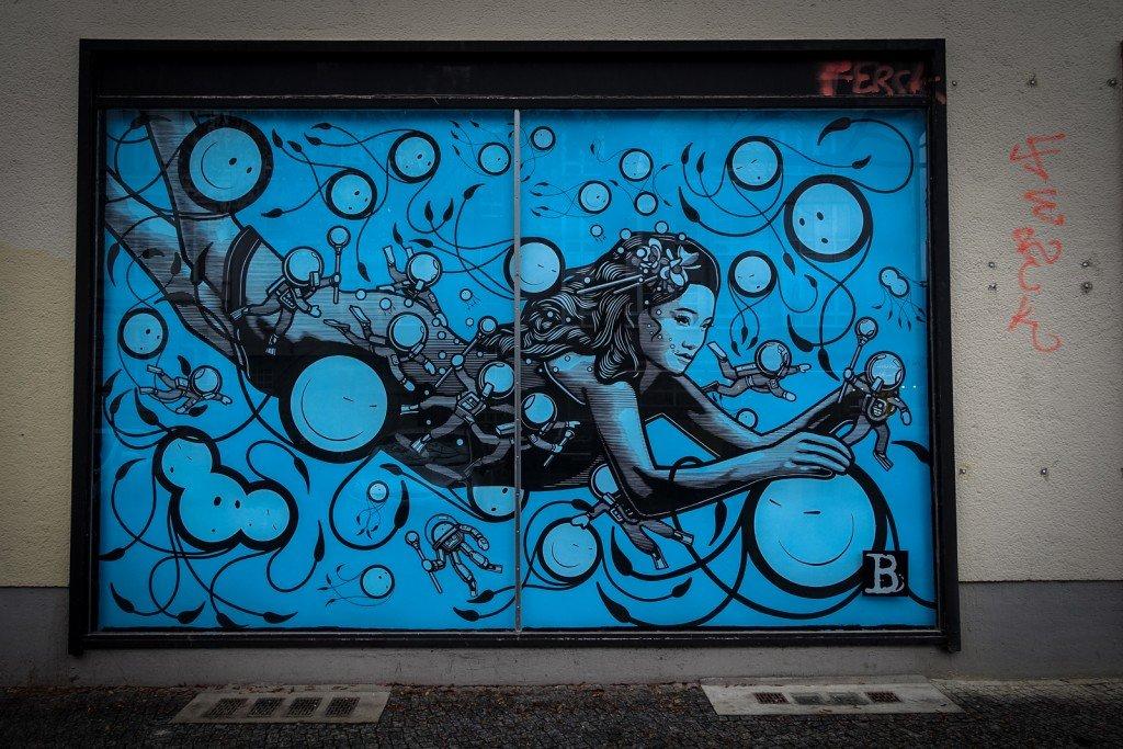 urban art - london police - berlin, bülowstrasse