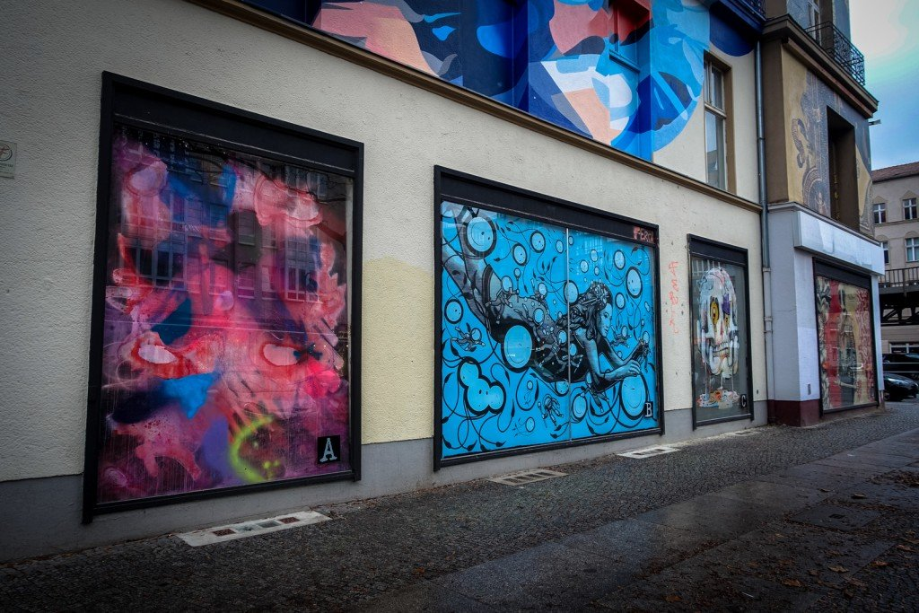 urban art berlin b lowstrasse urbanpresents. Black Bedroom Furniture Sets. Home Design Ideas
