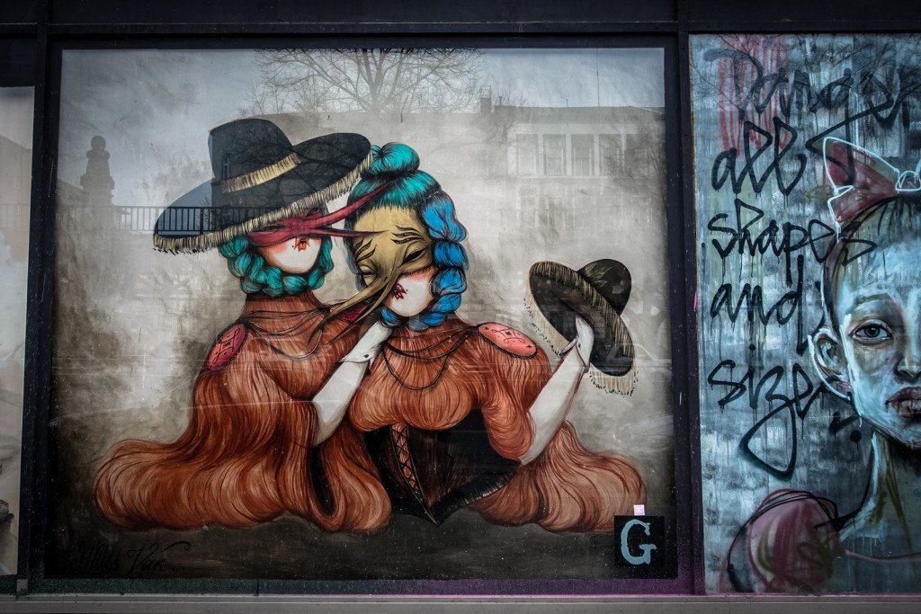 urban art - miss van - berlin, bülowstrasse
