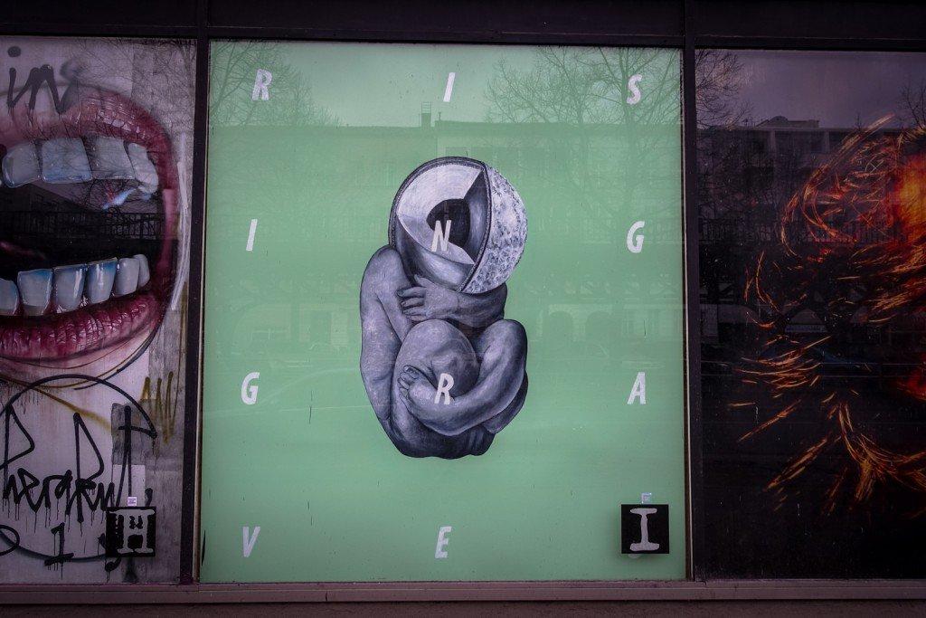 urban art - cyrcle berlin, bülowstrasse