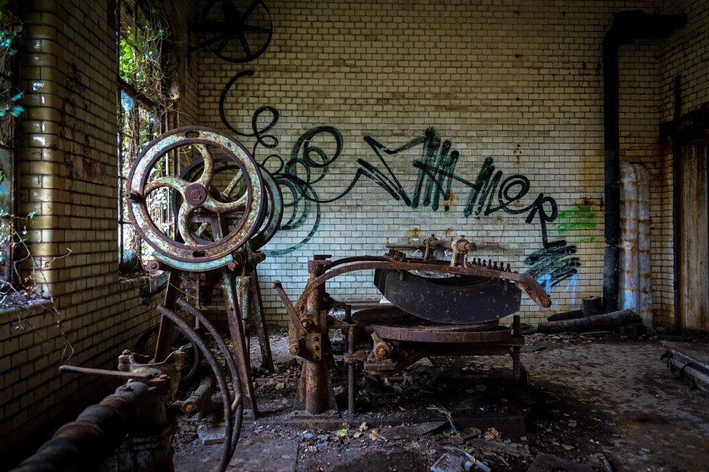 urbex - beelitzer heilstätten, dez 2015