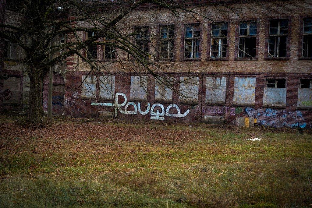 urbexart - rouge - beelitzer heilstätten, dez 2015