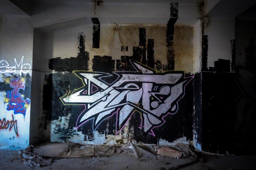 urbex graffiti - time - schlachthof, halle/saale