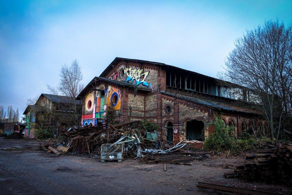urbex - schlachthof, halle/saale