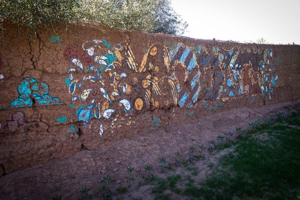 graffiti - jardin rouge, marrakesh