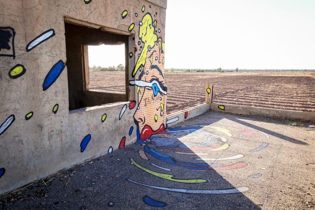 streetart - 310 - jardin rouge, marrakesh