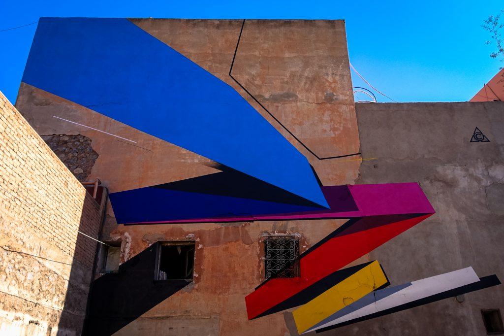 mural - remi rough - marrakech