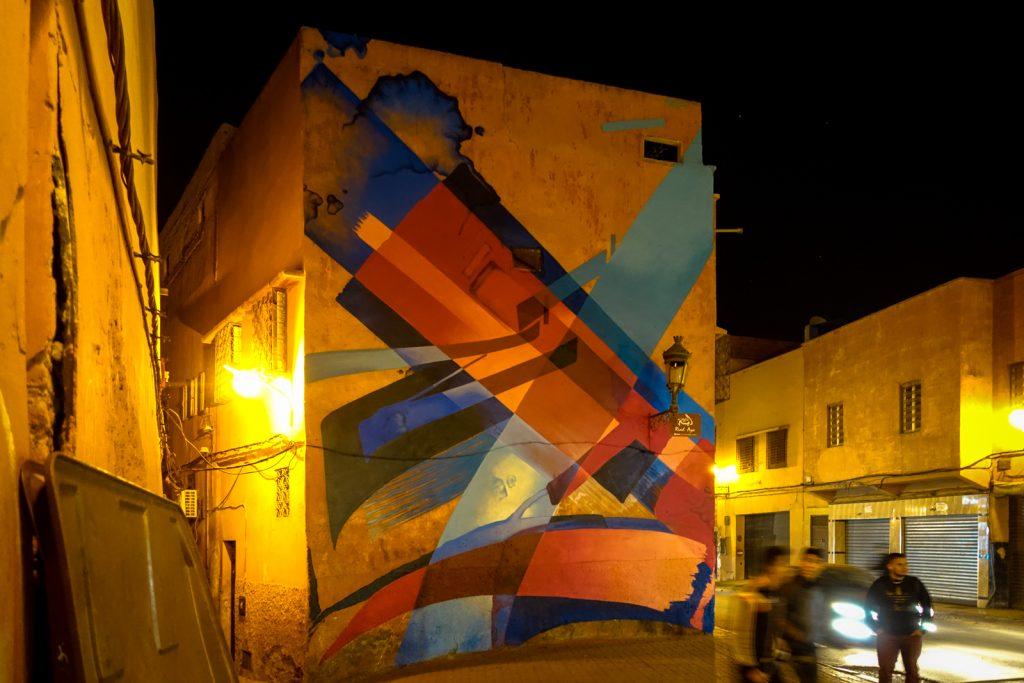 mural - mad c - marrakech