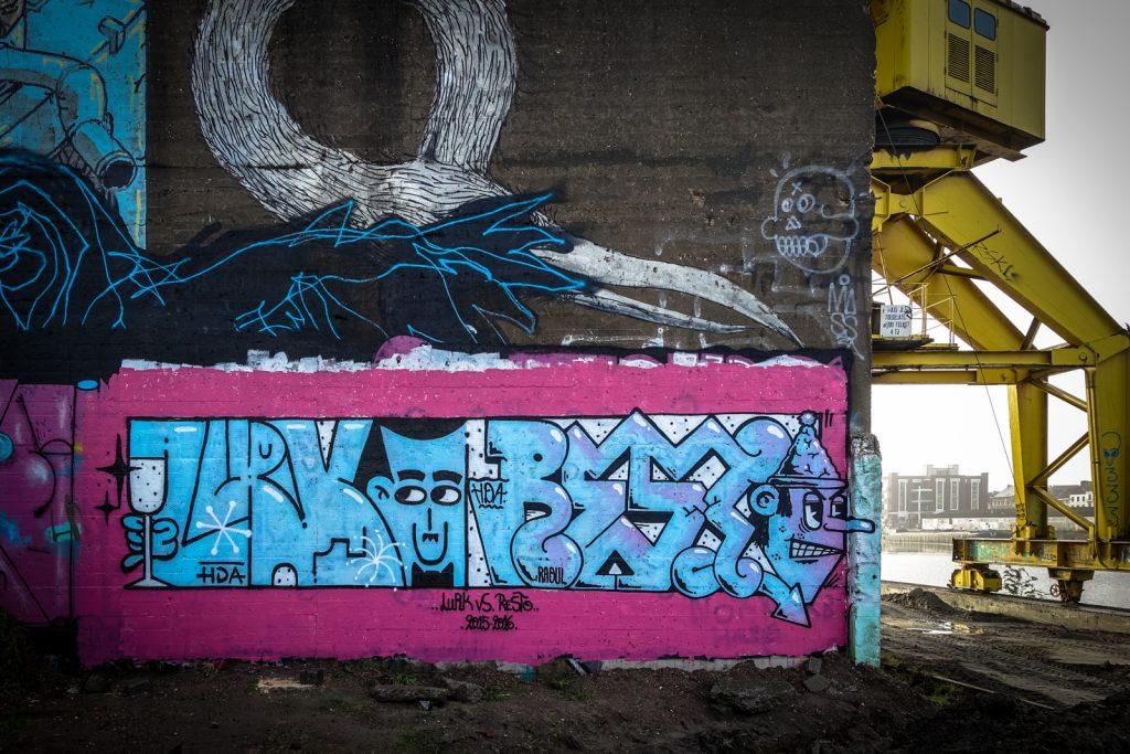 graffiti - resto, lurk - dok, ghent