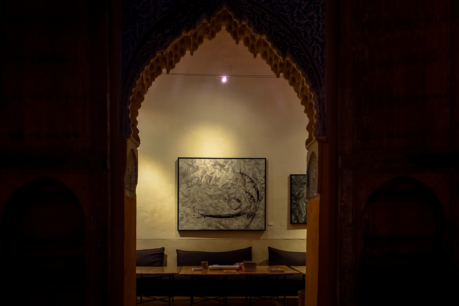 larbi cherkaoui exhibition, dar cherifa – marrakesh