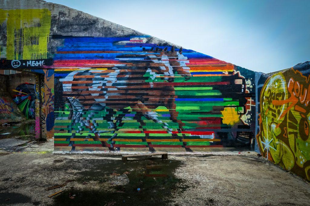 graffiti - cee pil - grindbakken, gent