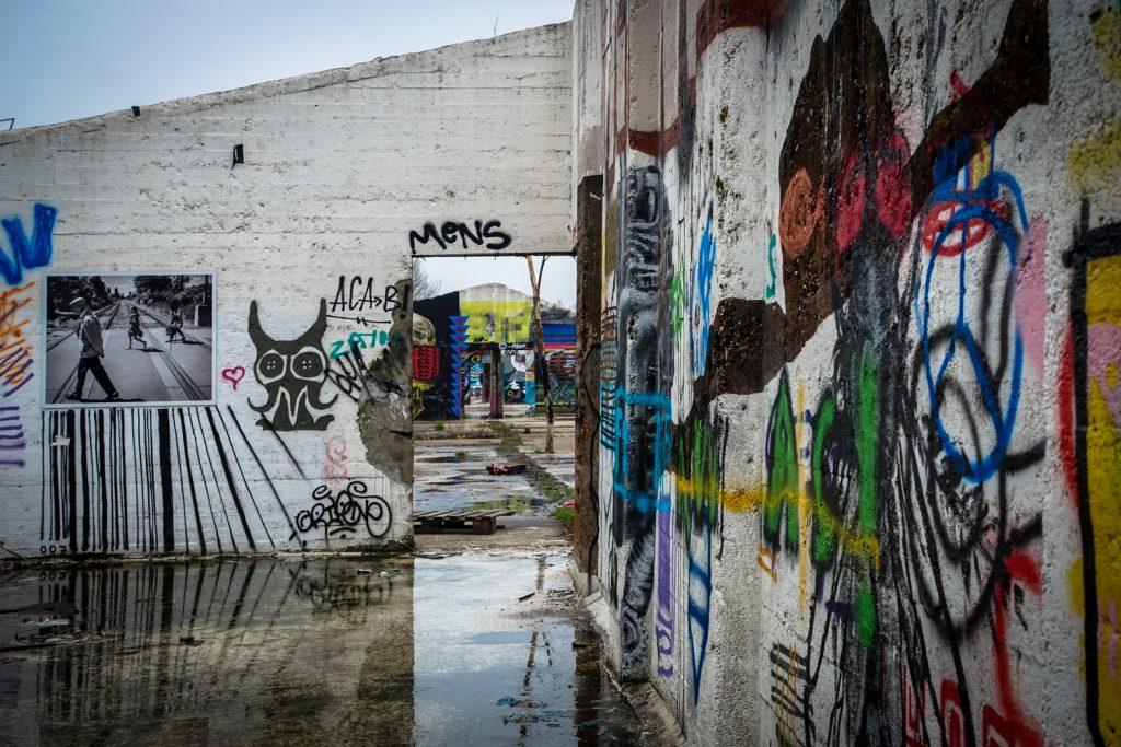 graffiti - grindbakken, gent