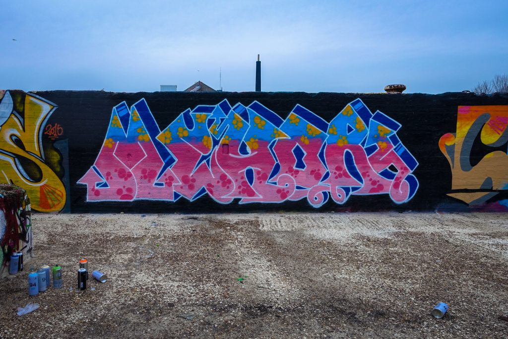 graffiti - mehor - grindbakken, gent