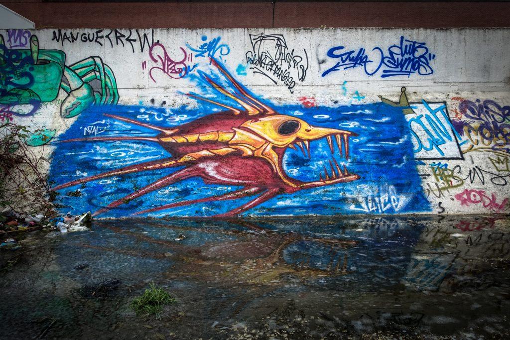 graffiti - cee pill - grindbakken, gent