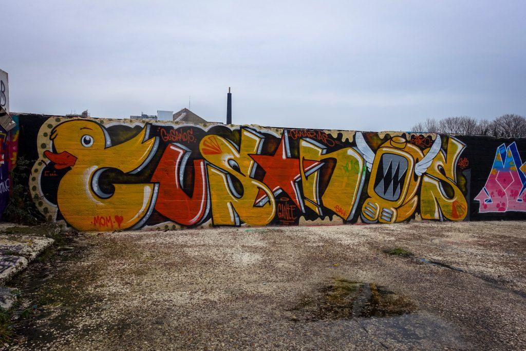 graffiti - gusanos - grindbakken, gent
