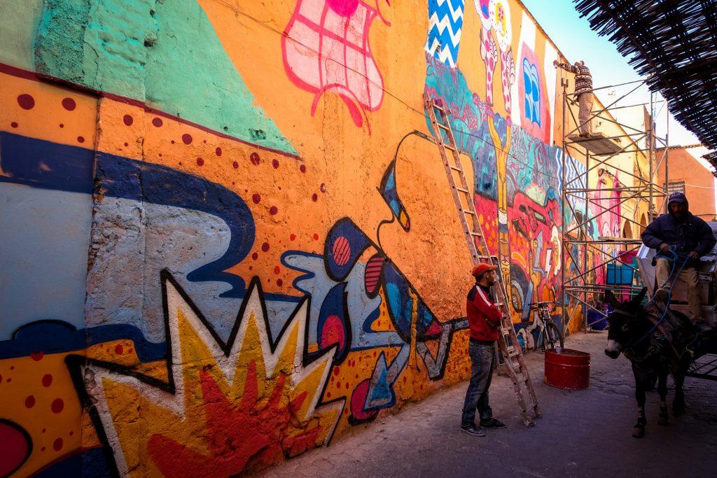 graffiti - sickboy - marrakech, bab group, mb6 hq