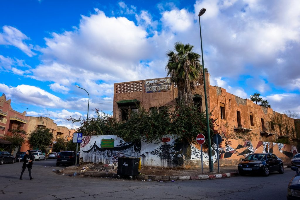 kalligrafie – koutoubia – marrakech, gueliz