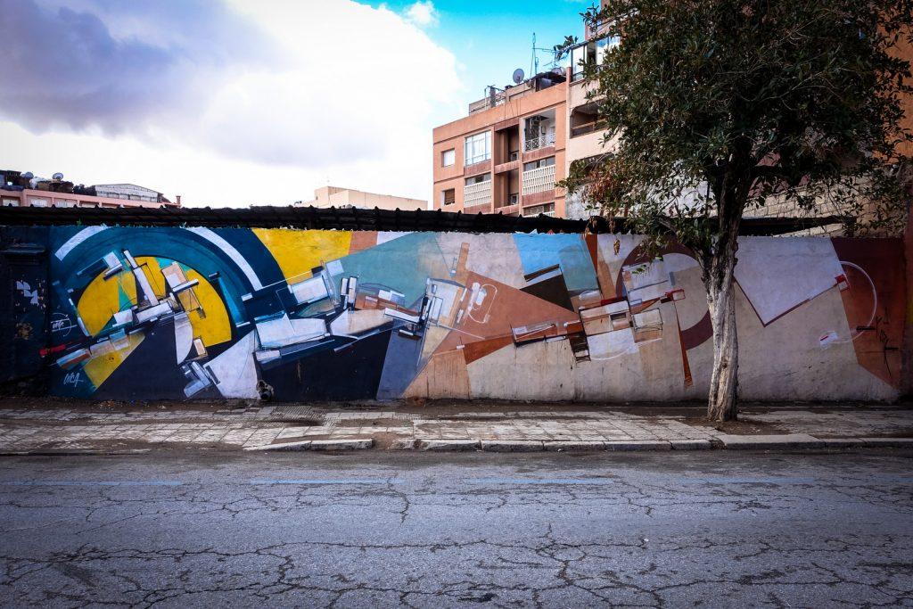 mural - kofie - gueliz, marrakesh