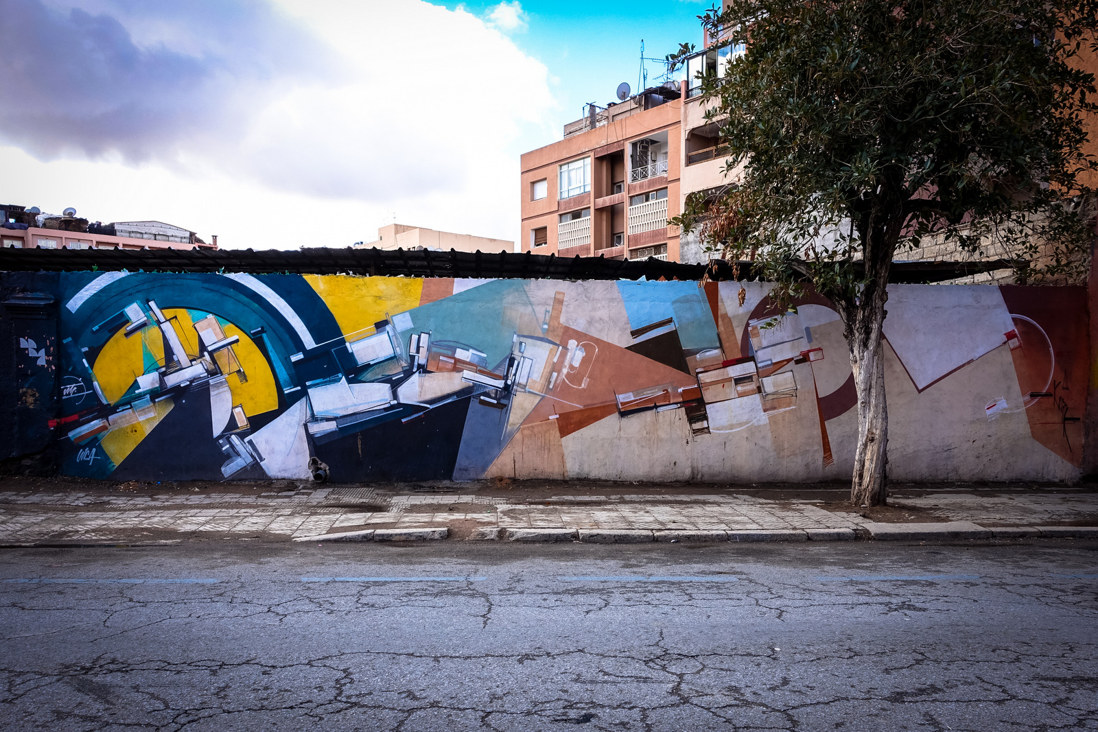 lx.one, swizz & kofie murals in gueliz, marrakesch