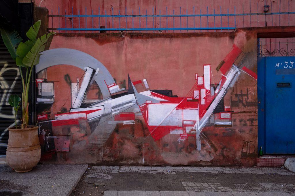 streetart - kofie - gueliz, marrakesh