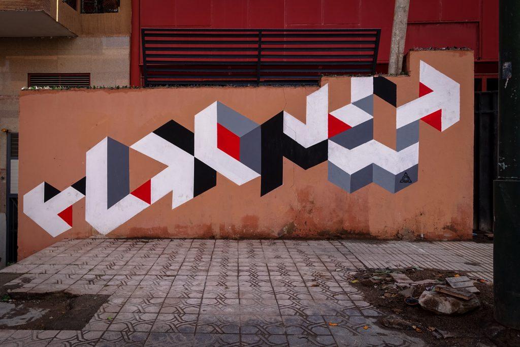 streetart - lx.one - gueliz, marrakesh