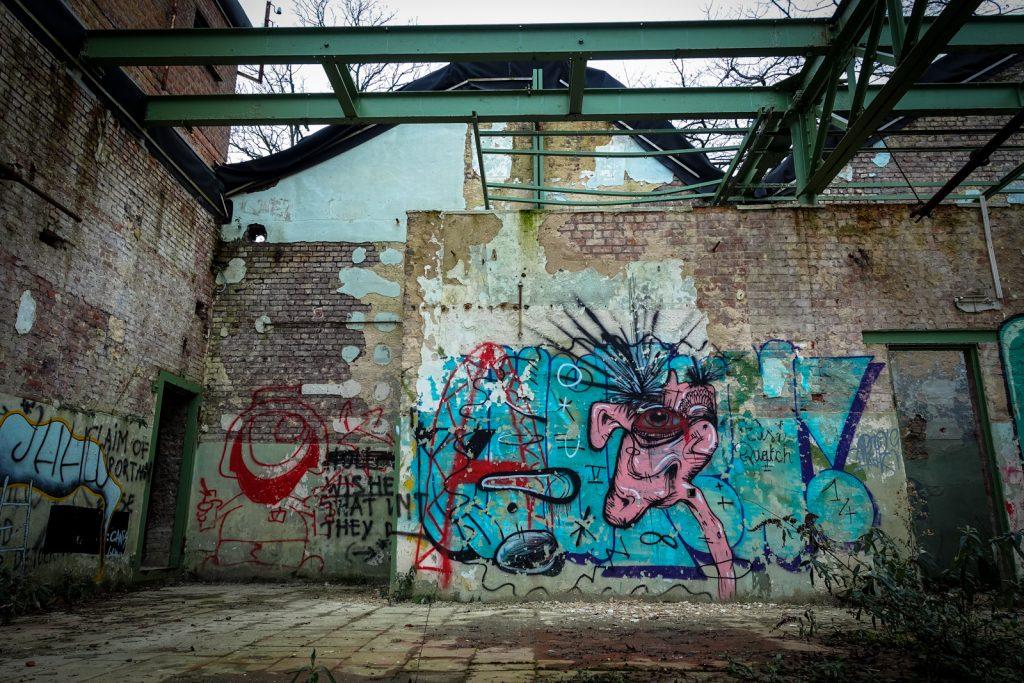 graffiti - quatch - vynckier, ghent