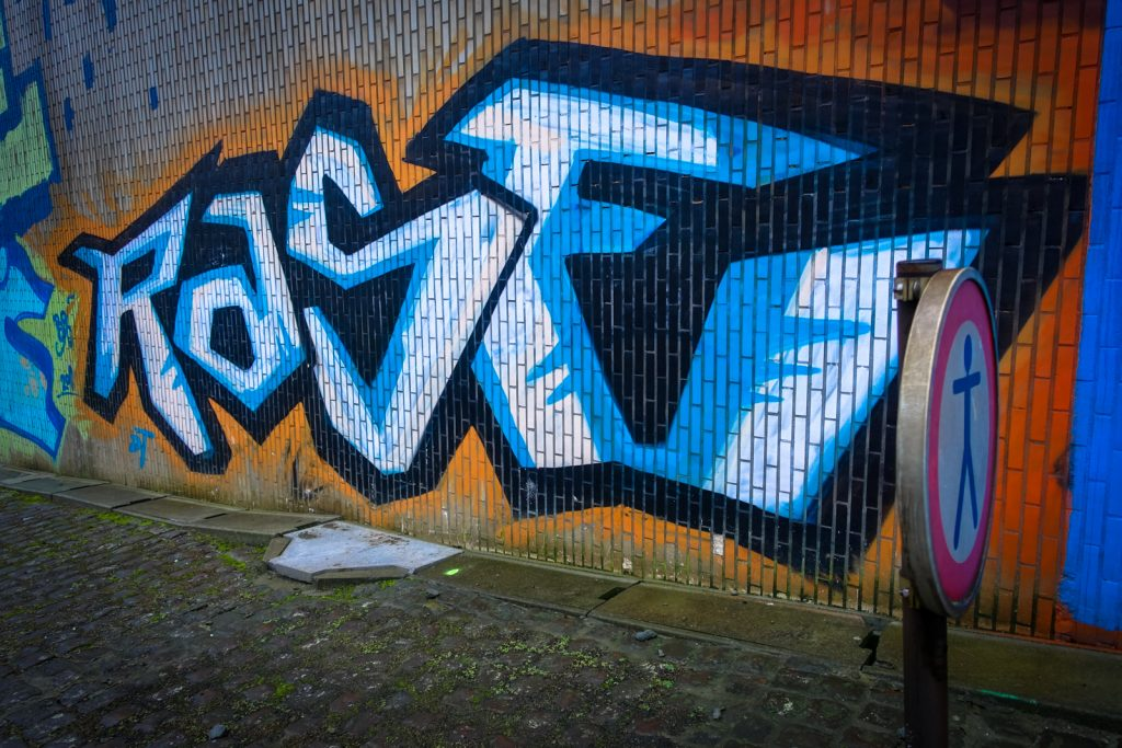 graffiti - rase - antwerpen/berchem station