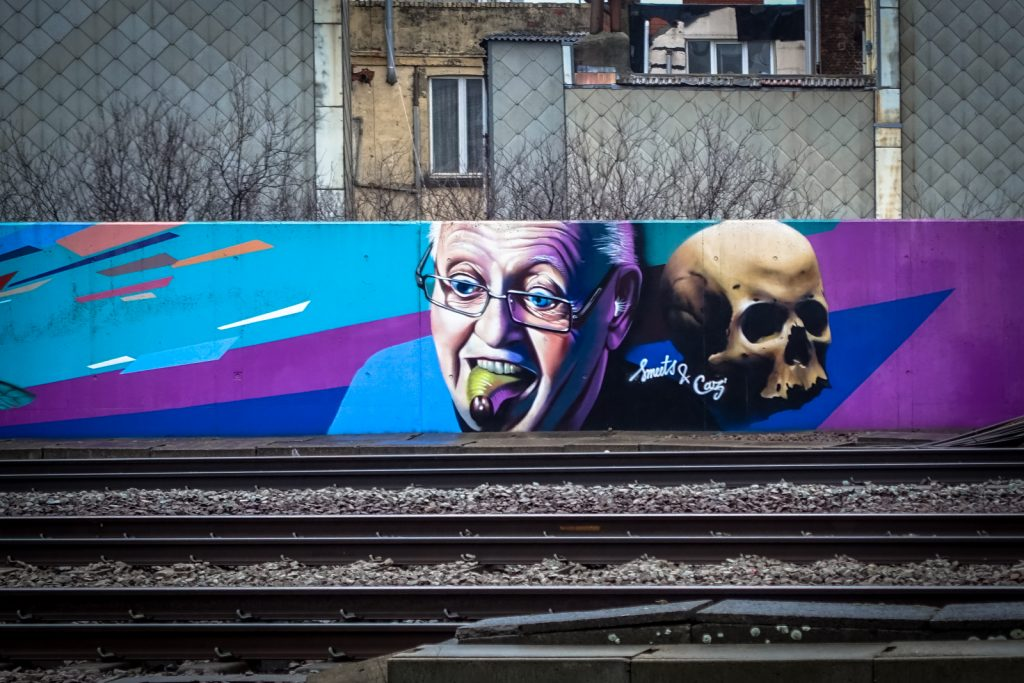 graffiti - smeets & caz - antwerpen/berchem station
