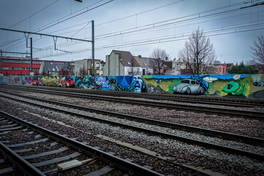 graffiti - antwerpen/berchem station