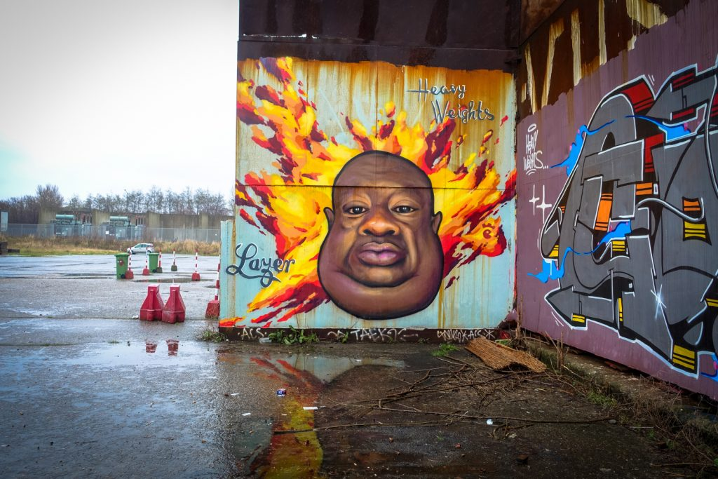 graffiti - lazer, heavy weights - petrol, antwerpen